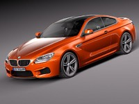 BMW M6 2013 coupe